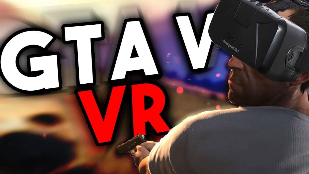 Gta V Na Vr Virtual Reality Youtube