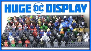 HUGE LEGO DC Minifigures Collection
