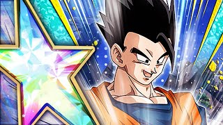 THE BEST ULTIMATE GOHAN IN DOKKAN? 100% RAINBOW STAR F2P ULTIMATE GOHAN! (DBZ: Dokkan Battle)