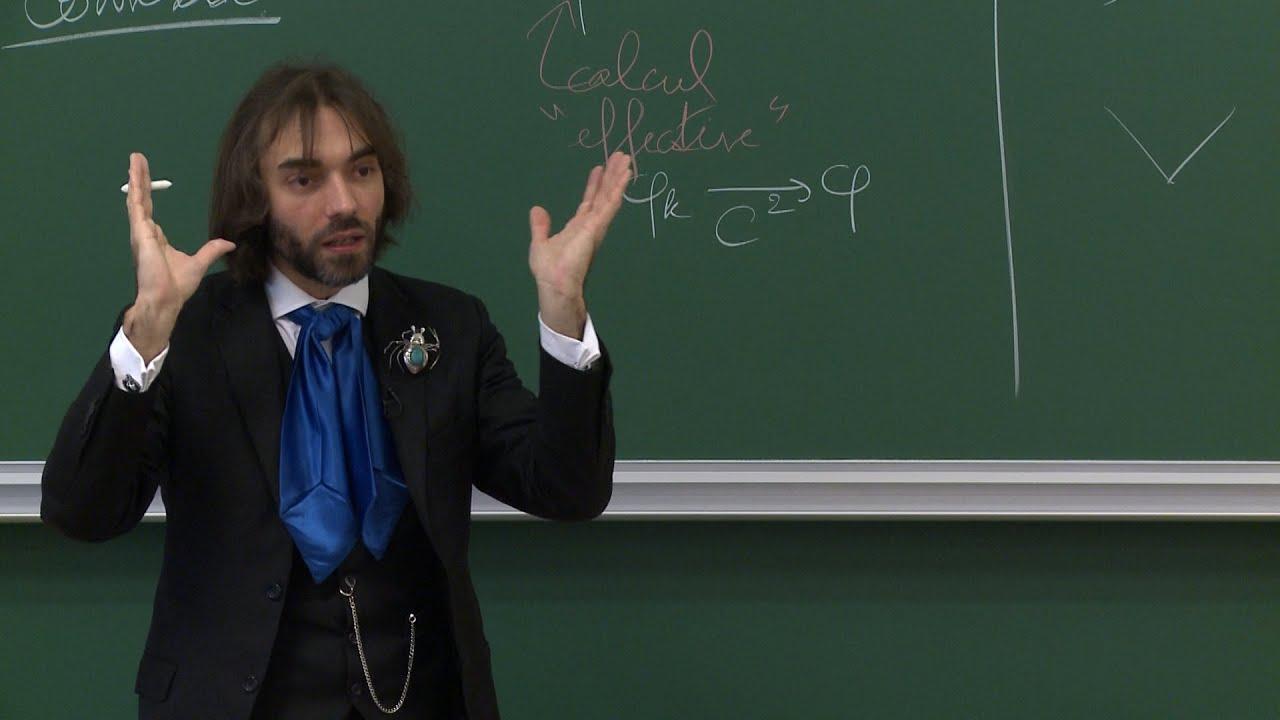 Cédric Villani - 1/7 La théori...