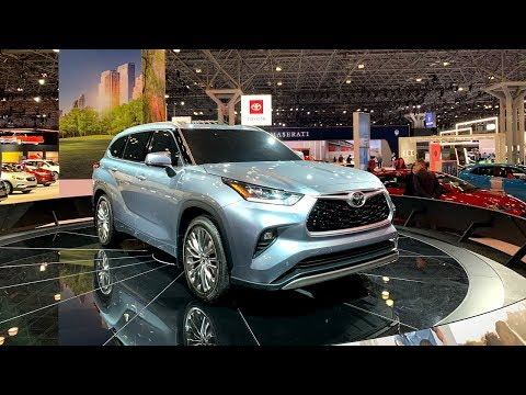 2020 Toyota Highlander (This Dec 2019) - New York Auto show