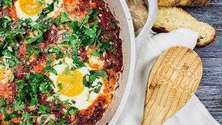Шакшука | Рецепт Шакшуки в пряном соусе | Вкусный завтрак