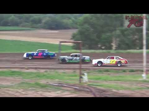 Salina Speedway - 7-27-18 - Busch Light Hobbystock Heat Race