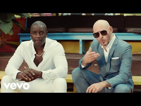 Akon – Te Quiero Amar (Letra) ft. Pitbull