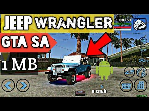 Jeep Wrangler Car Gta Sa Android Only 1 Mb Youtube