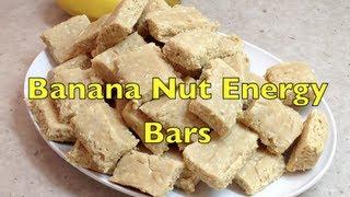 Banana Nut Health Bars Cheekyricho