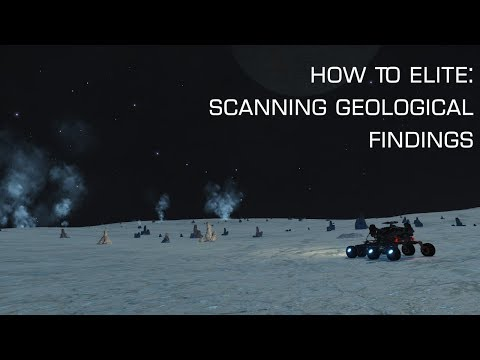 How To Elite: Scanning Geological Discoveries