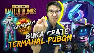 BUKA CRATE TERMAHAL DI PUBG SAMPE FULL SET! GIVEAWAY UC! - PUBG Mobile Indonesia