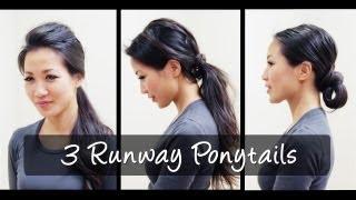 3 Runway Ponytail Looks Thumbnail