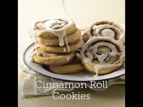 Easy Cinnamon Roll Sugar Cookies
