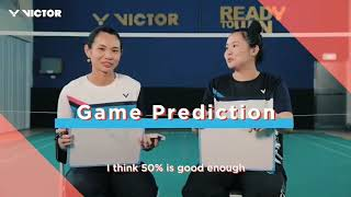 VICTOR : Who got to know Tai Tzu Ying better than her sister Tai Ching Chieh does?