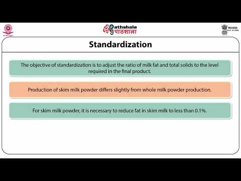 Technology of Dried milk products-I: Skimmed and whole milk powders, Instant milk powders