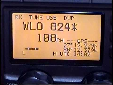 Offshore Weather Sources #1, SSB Voice Weather Broadcasts