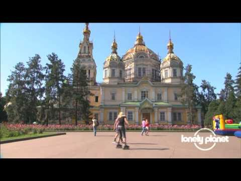 Cathedral of Holy Ascension in Almaty, Kazahkstan - Lonely Planet travel video