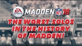 The WORST Solo's In The HISTORY OF MADDEN! Gauntlet Reward Packs Opening! Madden 18 Ultimate Team
