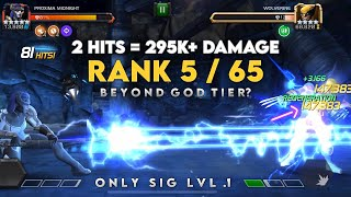 Rank 5/65 Proxima Midnight (Beyond God Tier) Act 6 Gamplay - Marvel Contest of Champions
