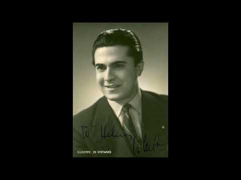 """Giuseppe Di Stefano """"Tombe degli avi miei"""" Lucia di Lammermoor"""