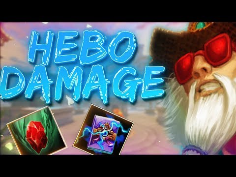 Hebo: HIT PLAYER SO HARD HE WENT AFK - Smite