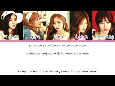 [Color Coded/Han/Eng/Rom] Blady - Come To Me