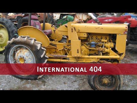 International Harvester 404 Tractor Parts