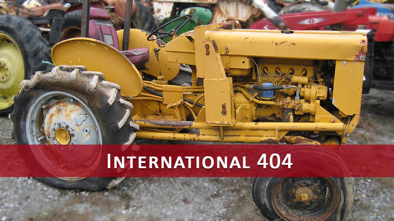 international harvester 404 tractor parts youtube rh youtube com 405 International Tractor 405 International Tractor