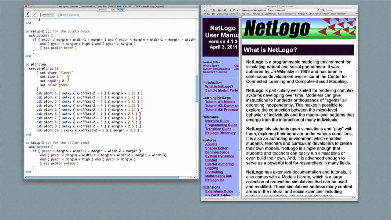 netlogo programming wwwimagenesmycom