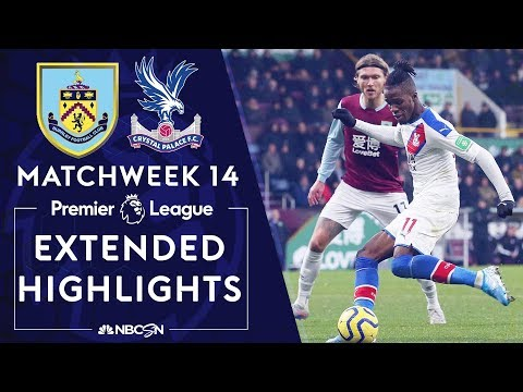 Burnley v. Crystal Palace | PREMIER LEAGUE HIGHLIGHTS | 11/30/19 | NBC Sports