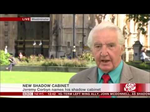 BALLER Dennis Skinner Takes Down Corrupt Media Defends Corbyn