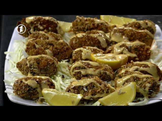 Ashpazi - آشپزی - کوفته سرخ شده سوخاری دار