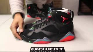 """Air Jordan 7 Retro 30th """"Barcelona Nights"""" Unboxing Video at Exclucity"""