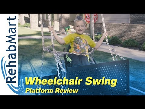 Playground Gear For Wheelchairs - Wheelchair Swing By Sportsplay