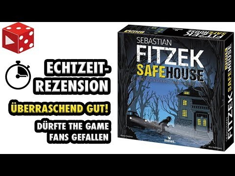 Sebastian Fitzek:: Safehouse - Echtzeitrezension / Let's Pla