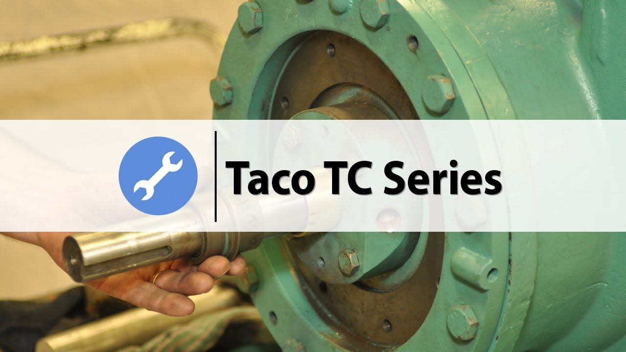How to disassemble a Taco TC series pump
