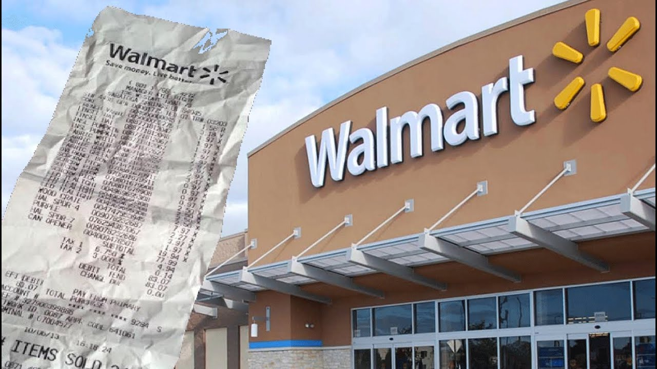Walmart Receipt Check Refusal  READ THE LAWS
