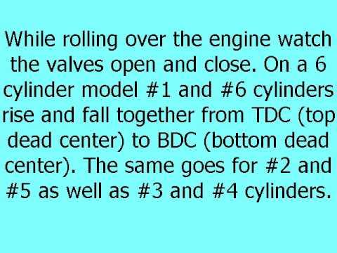 Setting Diesel Engine Valves Using The Rocker Method - YouTube