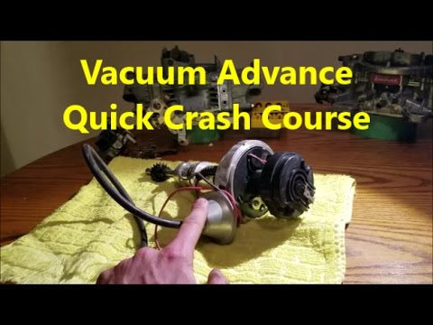 Vacuum Advance Explained - What it is & How it Works