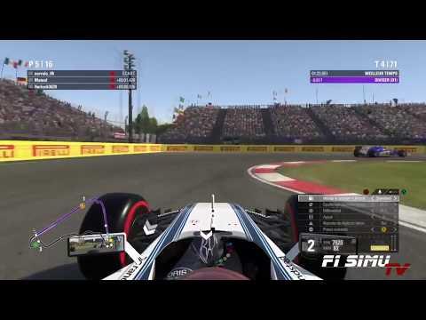 F1 Simu - GP Mexique Onboard