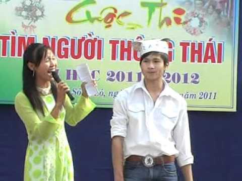 """[THPT Sáng Sơn - Sông Lô - VP] -  Thi """"Tìm Người Thông Thái""""_clip4 of 4."""