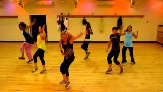 """Follow the Leader""  J Lo Dance fitness with Medora.MOV"
