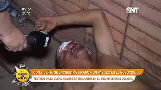 Hombre atropellado lleva dos días en la calle
