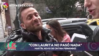 Habló Nicolás, el novio de Cinthia Fernández: El hombre que le tiró onda a todas