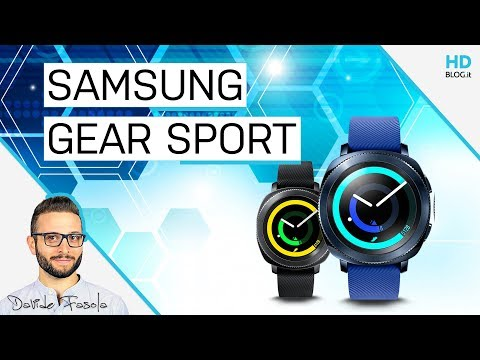 RECENSIONE SAMSUNG GEAR SPORT: Tizen OS 1 - Android Wear 0