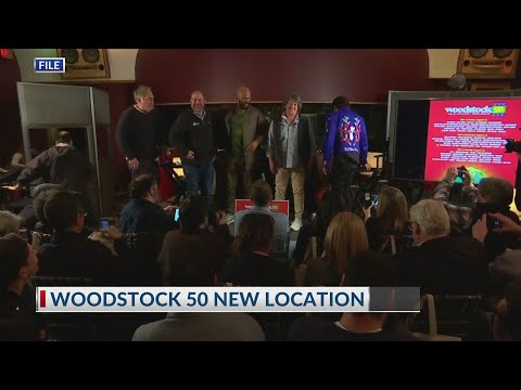Big 95 Morning Show - Woodstock 50 has a new home