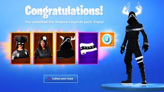 The New SHADOW LEGENDS PACK in Fortnite..