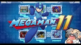 Mega Man 11 - Super Hero Mode Speedrun