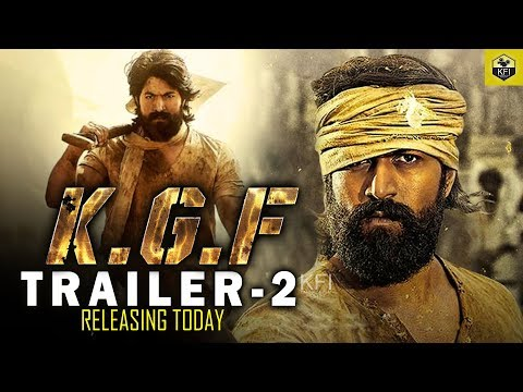 KGF Trailer 2 | Releasing Today | Rocking Star Yash | KGF Movie | Yash #KGF Official