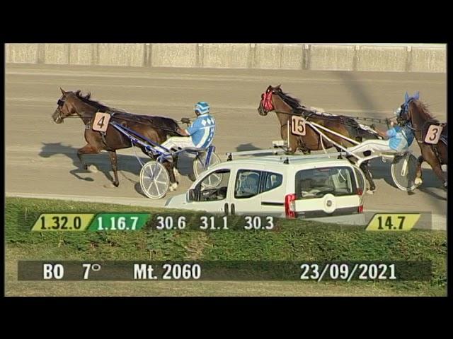 2021 09 23   Corsa 7   Metri 2060   Premio Guitto