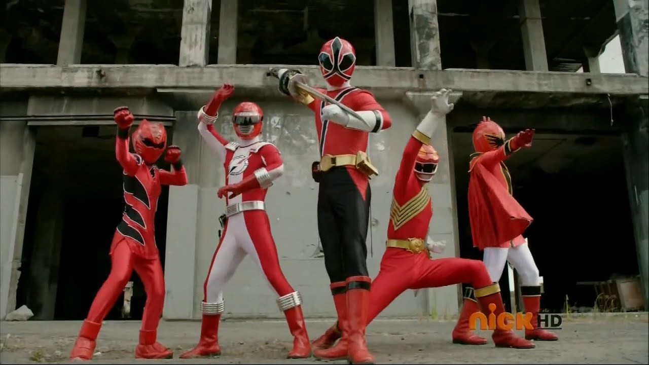 Power Rangers Super Megaforce - Legendary Red Ranger Mode ...