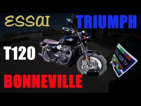 Fabike Essai Triumph Bonneville T120 Youtube