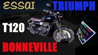 Fabike #Essai Triumph Bonneville T120